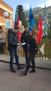 OSPEDALE PARTINICO SIT-IN